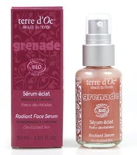 """Антивозрастной органический эликсир Terre dOc """"Grenade"""" (radiant serum)"""